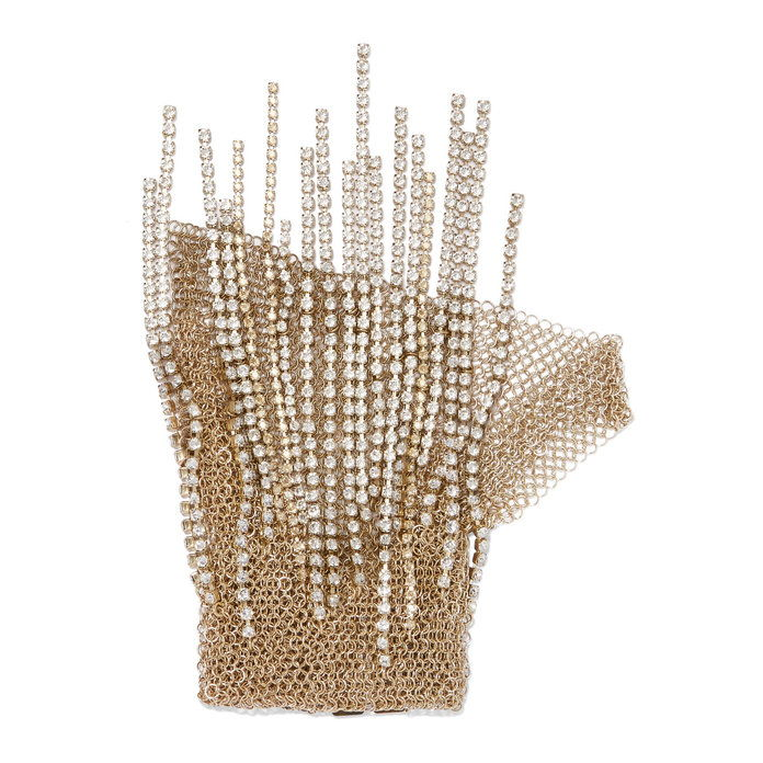 Злато Tone Crystal glove