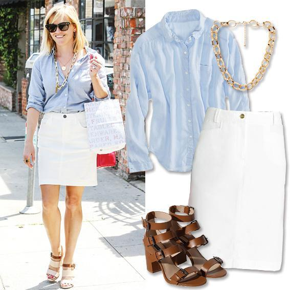 Реесе Witherspoon - Summer Work Outfits