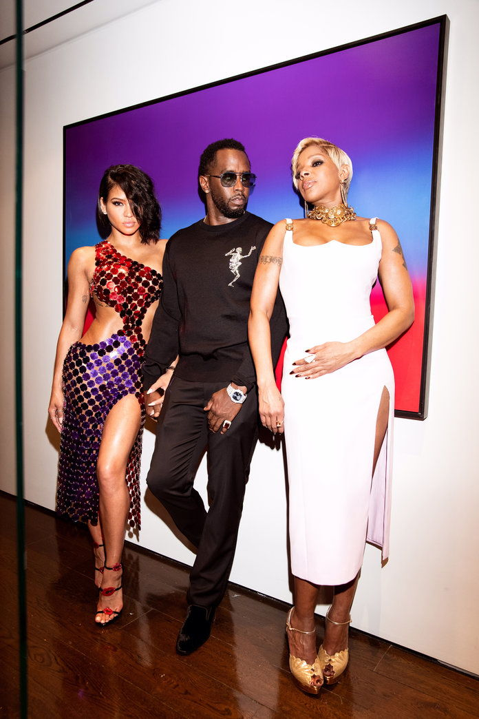 Цассие, Diddy, and Mary J. Blige