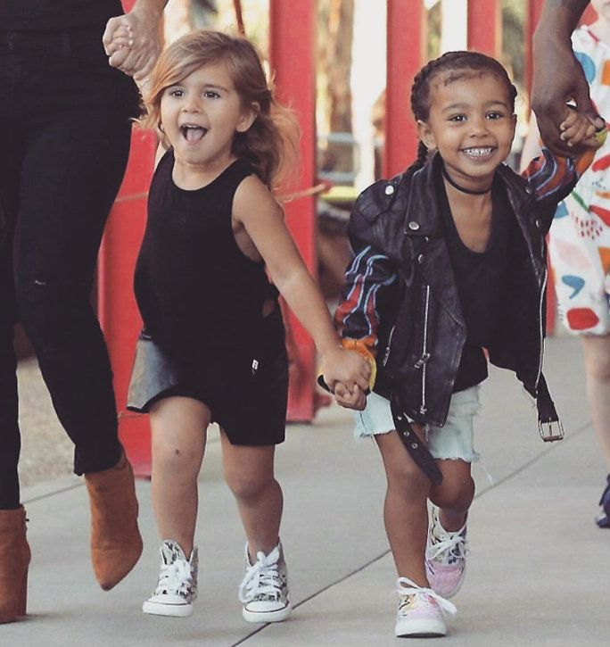 Север West and Penelope Disick Style - Lead