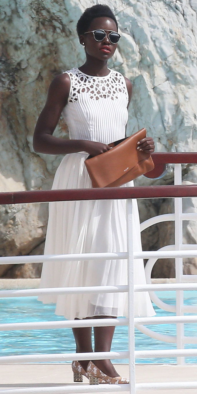 وبيتا Nyong'o spotted in Cannes