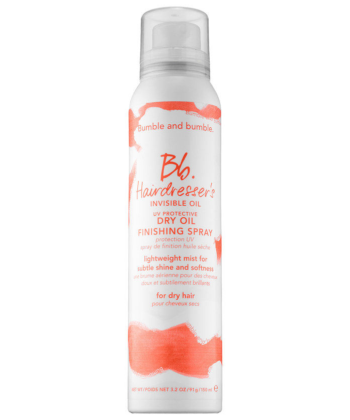 Бумбле and Bumble Hairdresser's Invisible Oil Dry Oil Finishing Spray