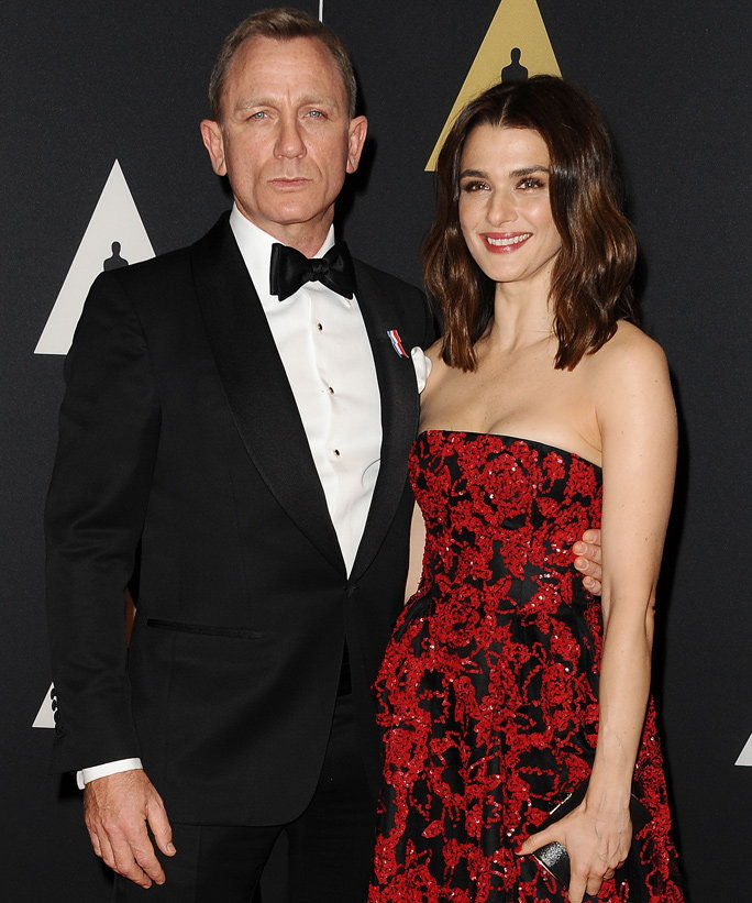 دانيال Craig and Rachel Weisz