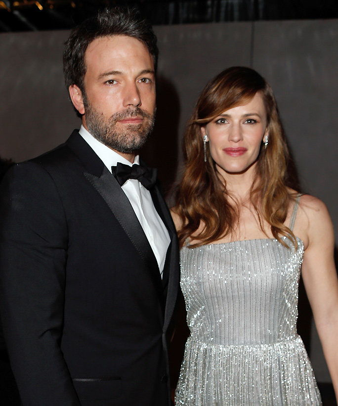 بن Affleck and Jennifer Garner