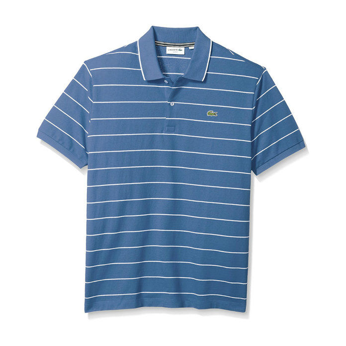 لاكوست Stripe Slim Polo Shirt