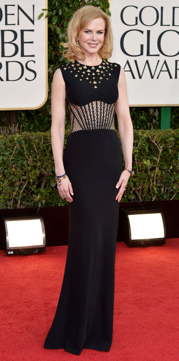 في Alexander McQueen at the Golden Globe Awards (2013)