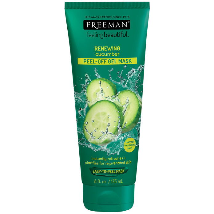 За Irritated Skin: Freeman Feeling Beautiful Facial Cucumber Peel-Off Mask