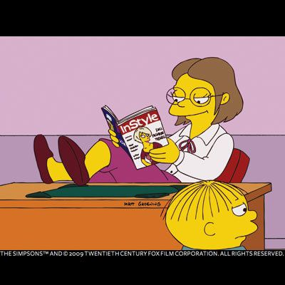 15 Years of InStyle - InStyle on TV - The Simpsons