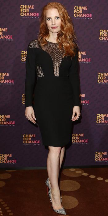 جيسيكا Chastain in Gucci