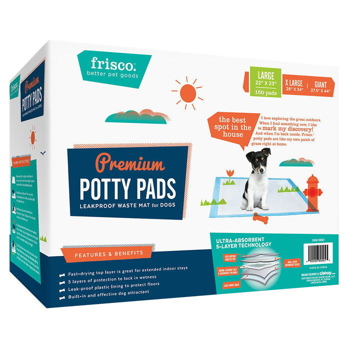 Фрисцо Training & Potty Pads