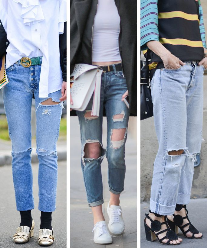 како to Distress Jeans - LEAD