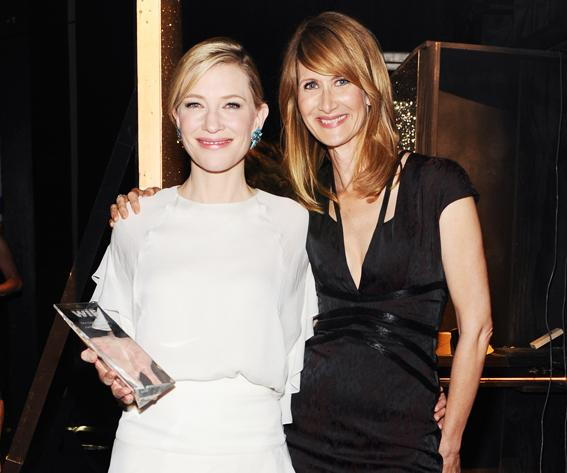 Цате Blanchett and Laura Dern attend Women In Film Crystal + Lucy Awards