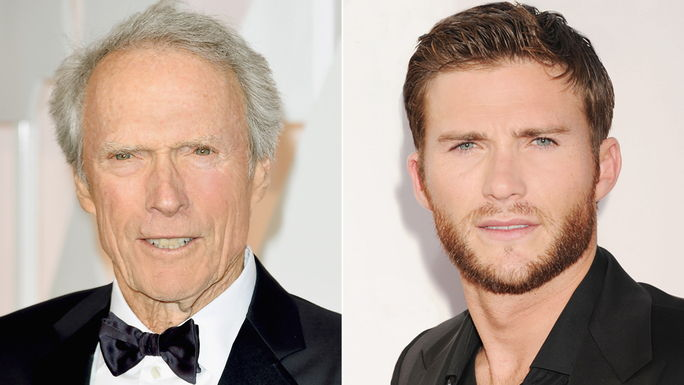 Цлинт Eastwood and Scott Eastwood