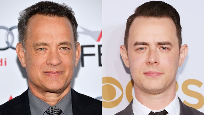 Том and Colin Hanks