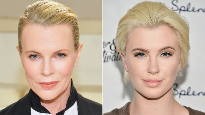 Ким Basinger and Ireland Baldwin