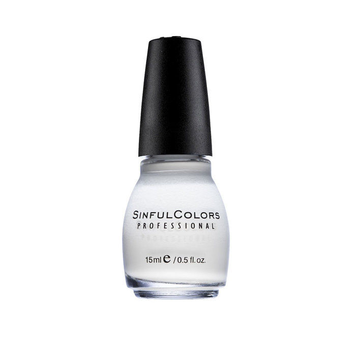 Синфул Colors Nail Polish in Snow Me White