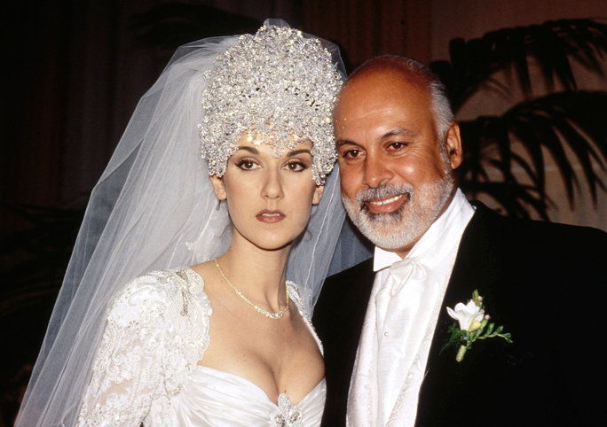 Целине Dion and Rene Angelil