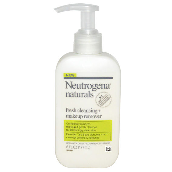 Неутрогена Naturals Fresh Cleansing + Makeup Remover