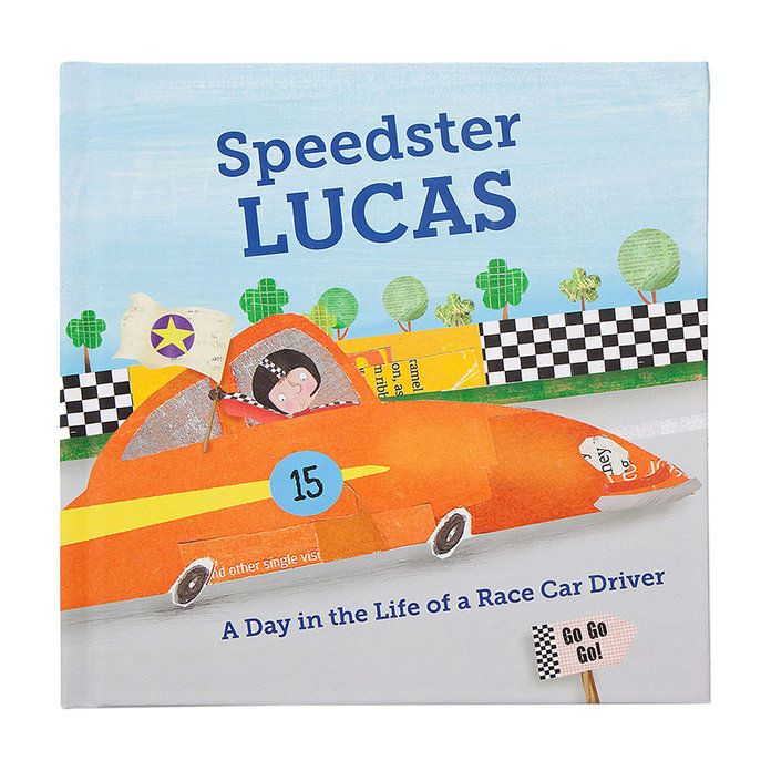 Мало Boy's Personalized Speedster Book