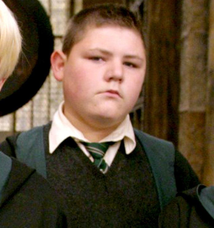 Харри Potter Cast Then/Now - Crabbe 1