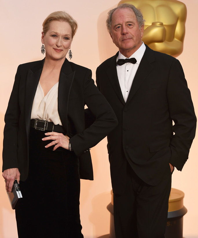 Мерил Streep and Don Gummer