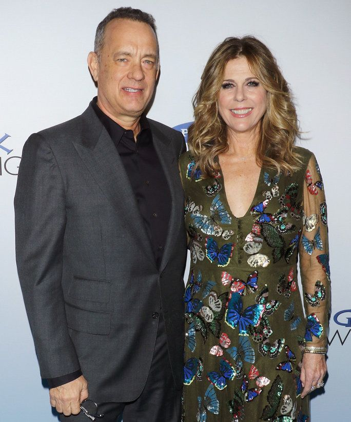Том Hanks and Rita Wilson