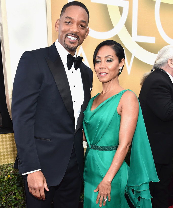 Ће Smith and Jada Pinkett Smith