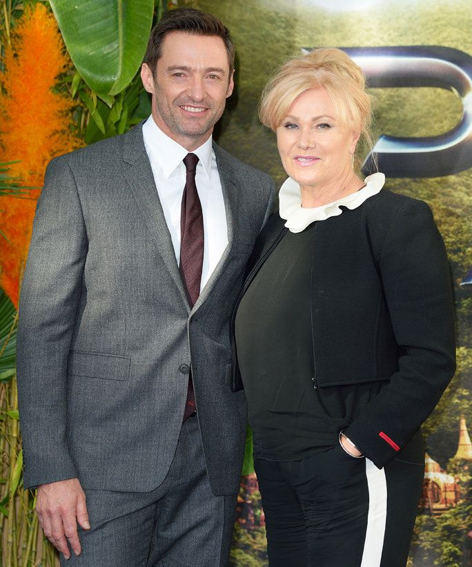 Хугх Jackman and Deborra-Lee Furness