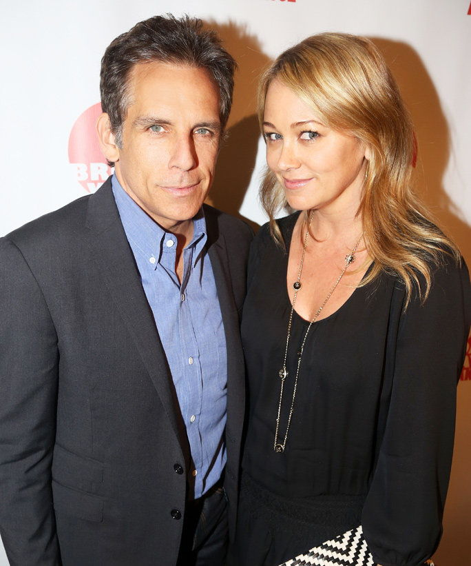Бен Stiller and Christine Taylor