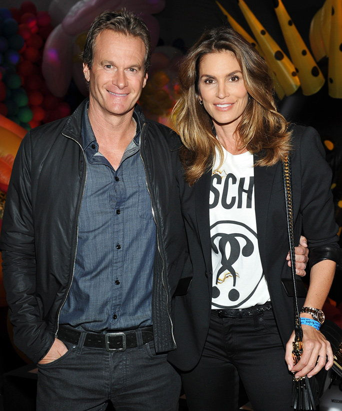 Цинди Crawford and Rande Gerber