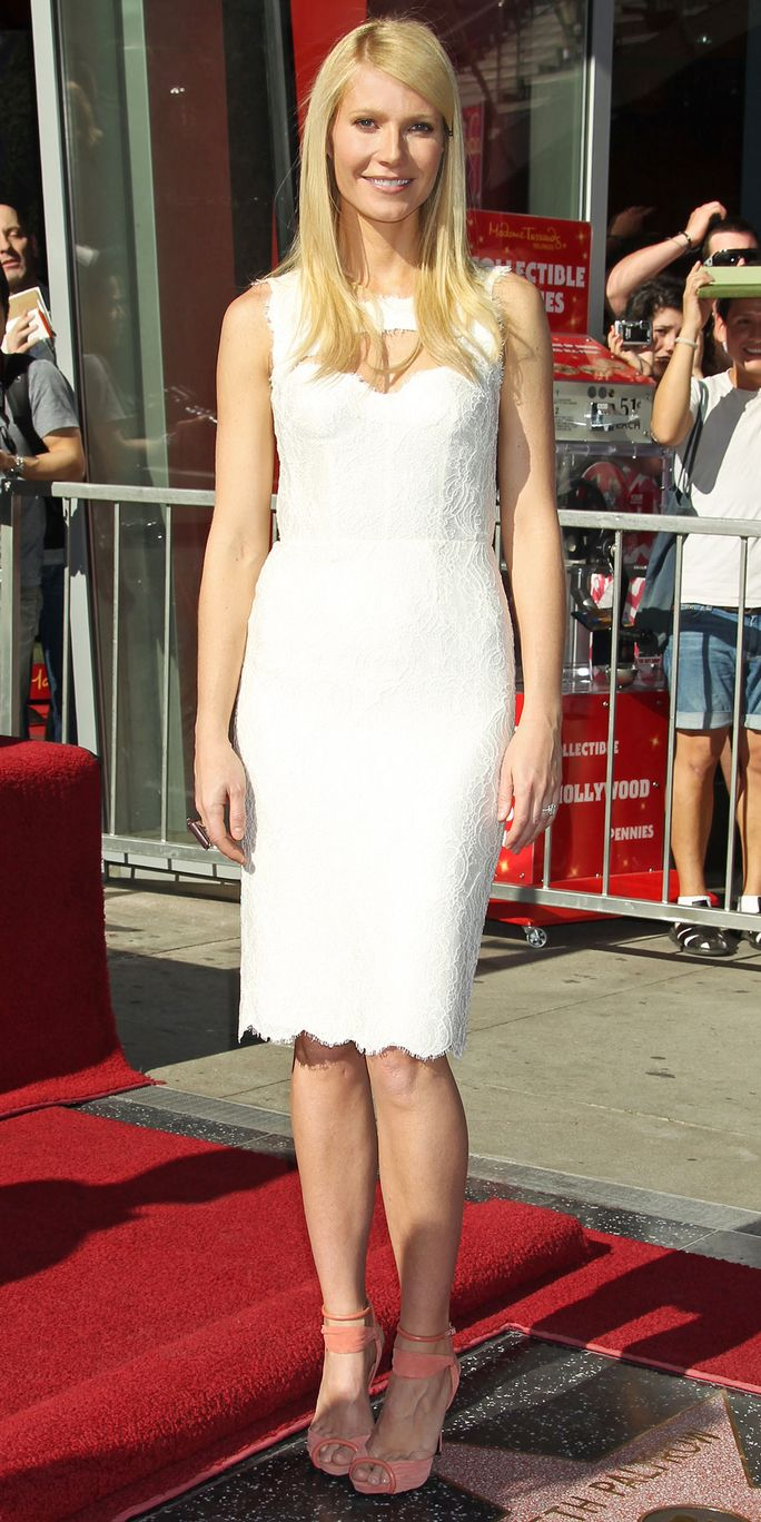 Холливоод Walk of Fame star ceremony for Gwyneth Paltrow, Hollywood, California.