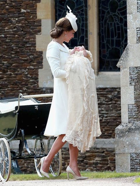 Тхе Christening Of Princess Charlotte Of Cambridge