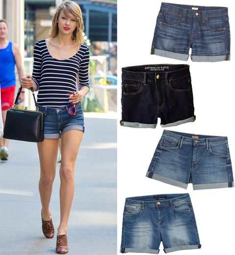 Деним Shorts - Taylor Swift
