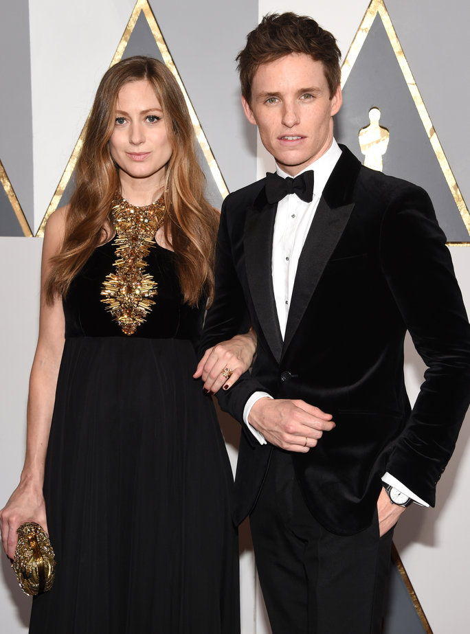 إدي Redmayne and Hannah Bagshawe