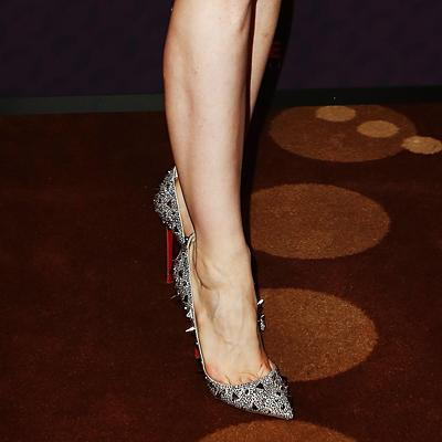 جيسيكا Chastain in Christian Louboutin