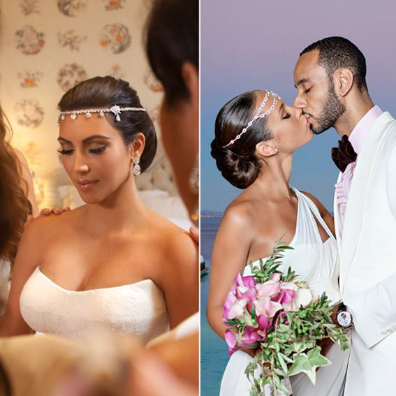 Не traditional Celebrity Brides Alicia Keys