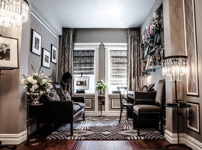 فيتزجيرالد Suite at The Plaza - the office/library