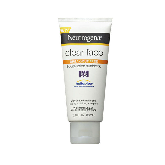 نيوتروجينا Clear Face Sunscreen Lotion