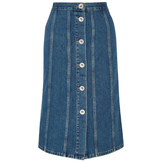 М.И.Х. Denim Skirt