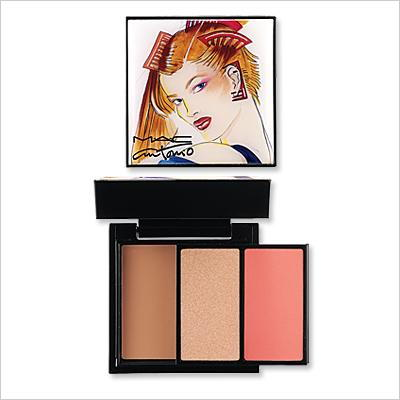 МАЦ Antonio Lopez - Face Palette in Coral