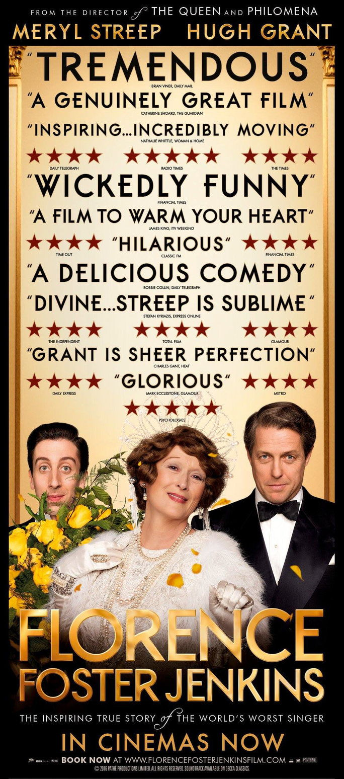 Филмови to Watch in August - Florence Foster Jenkins