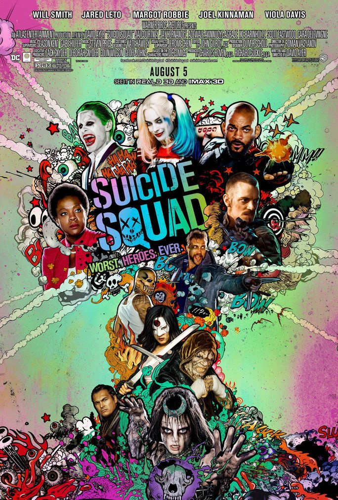 Филмови to Watch in August - Suicide Squad - LEAD