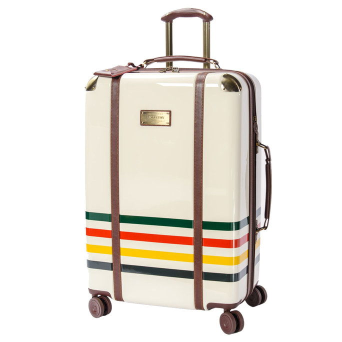 مجلدة Stripe Spinner Luggage