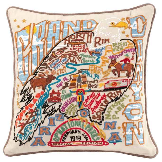 كبير Canyon Pillow