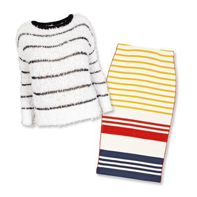 A.L.C sweater and By Malene Birger skirt