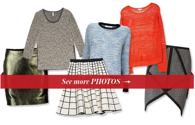 12 Sweater-and-Skirt Combos