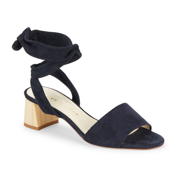 Бетти Muller Leather Block-Heel Sandals