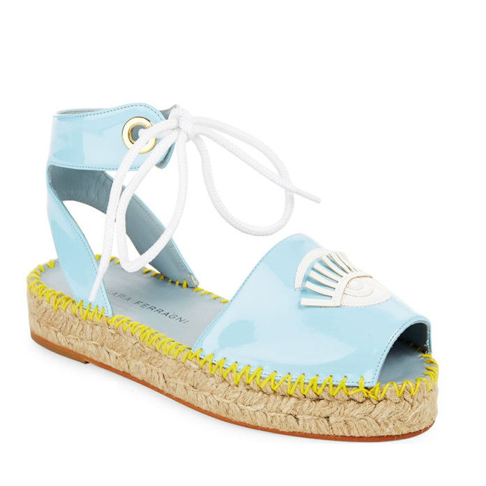 Цхиара Ferragni Patent Leather Espadrilles