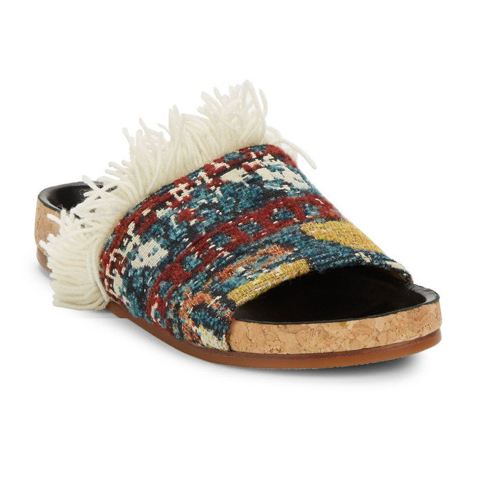 Цхлое Kerenn Tapestry Slide Sandals