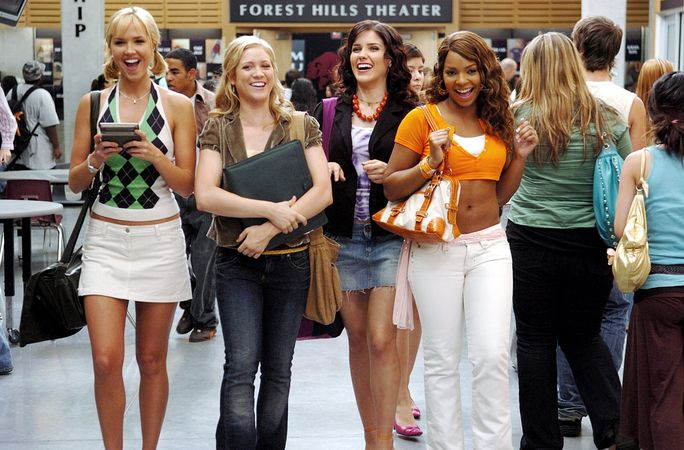 يوحنا TUCKER MUST DIE, Arielle Kebbel, Brittany Snow, Sophia Bush, Ashanti, 2006, TM & Copyright (c) 20th Century Fox Film Corp. All rights reserved.
